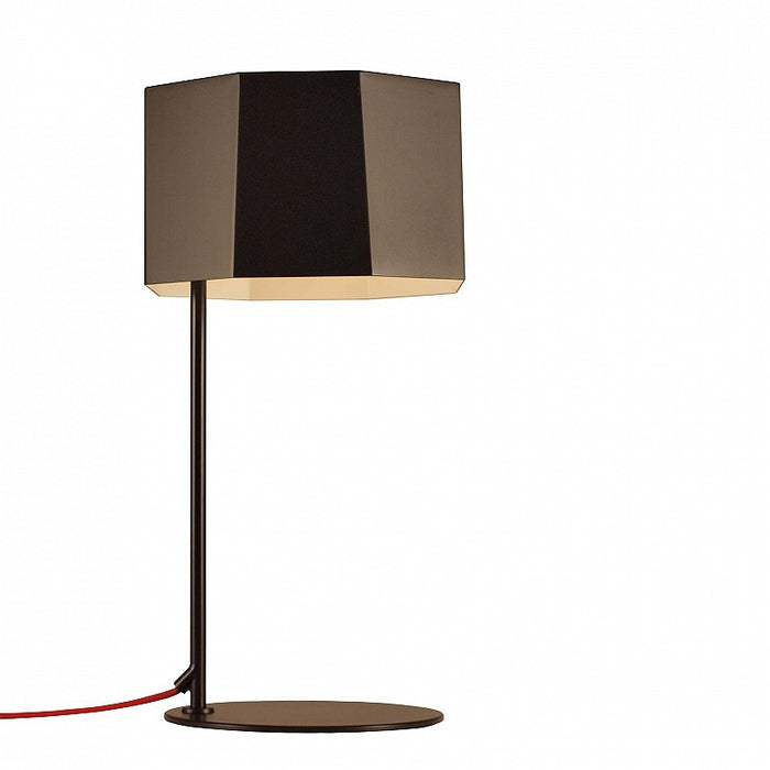 Zhe Table Lamp - Matte Black Finish