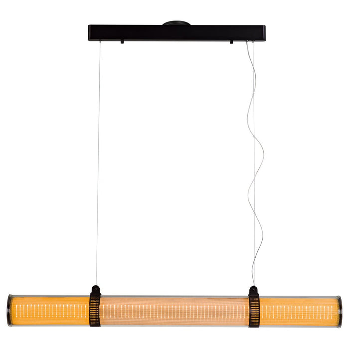 "Zhu 49.2"" Linear Suspension - Deep Taupe Finish"