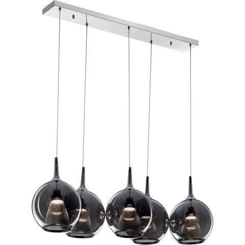 Zin Linear Pendant - Chrome