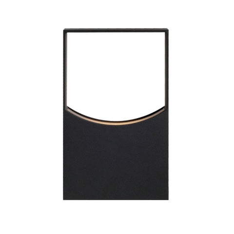 Zodiac LED Outdoor Wall Sconce - Black Finish
