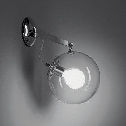 Miconos Wall Light - Chrome Finish