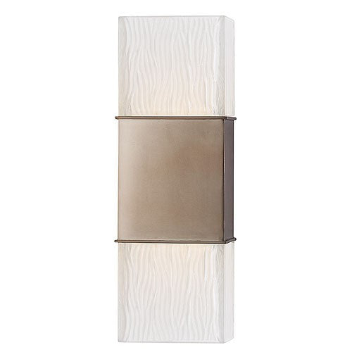 Aurora Wall Sconce - Brushed Bronze Finish