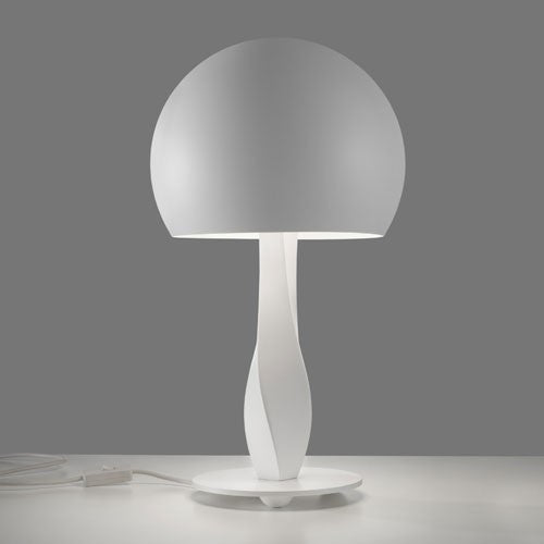 Bustier Table Lamp - White Finish