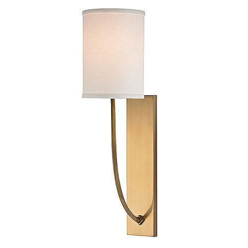 Colton Wall Sconce - Aged Brass Finish