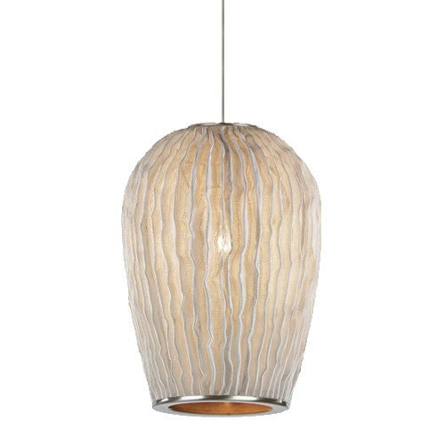 Coral Galaxea Pendant- White Finish