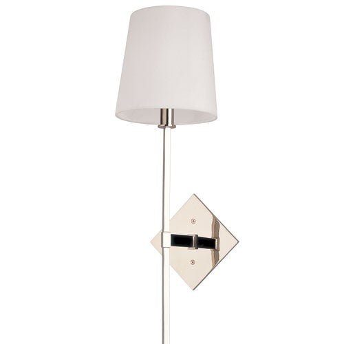 Cortland 1 Light Wall Sconce - Polished Nickel Finish