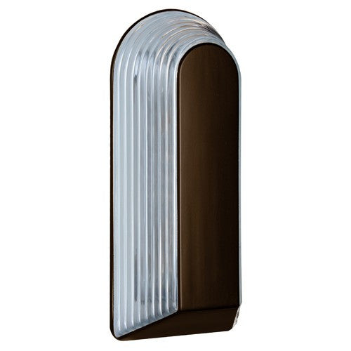 2433 Series Outdoor Wall Sconce - Bronze Finish Clear Glass