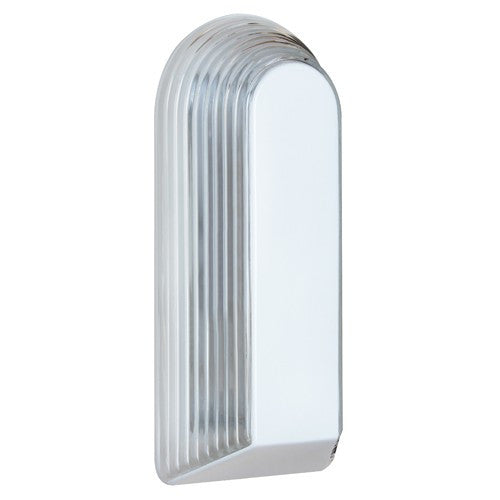 2433 Series Outdoor Wall Sconce - White Finish Clear Glass