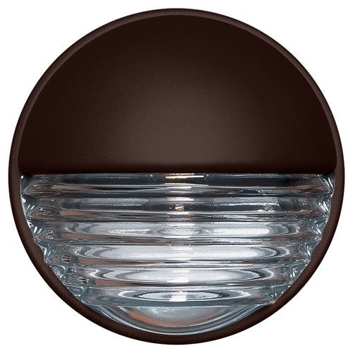 3019 Series Outdoor Wall Sconce - Bronze Finish Clear Glass