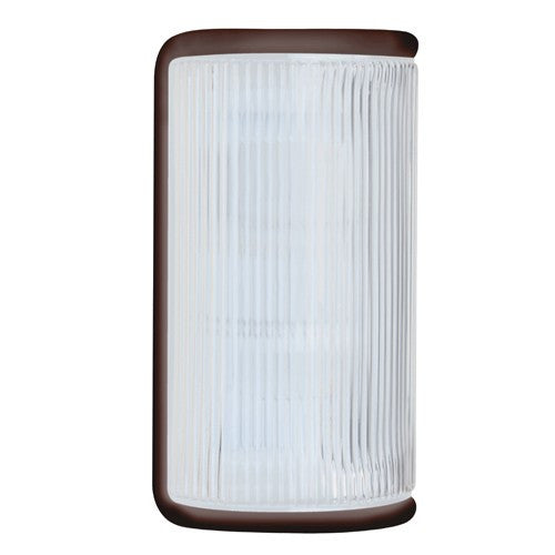 3079 Series Outdoor Wall Sconce - Bronze Finish Frost Glass