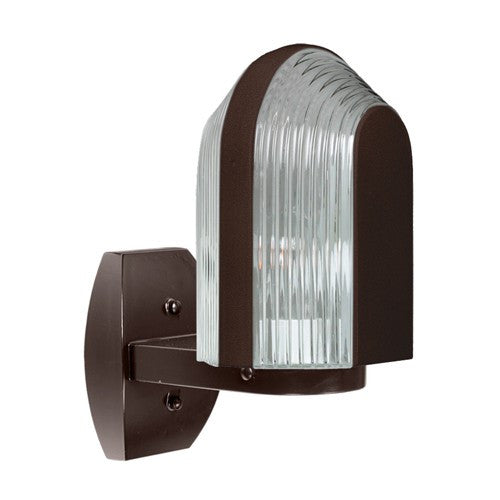3139 Series Outdoor Wall Sconce - Bronze Finish Clear Glass