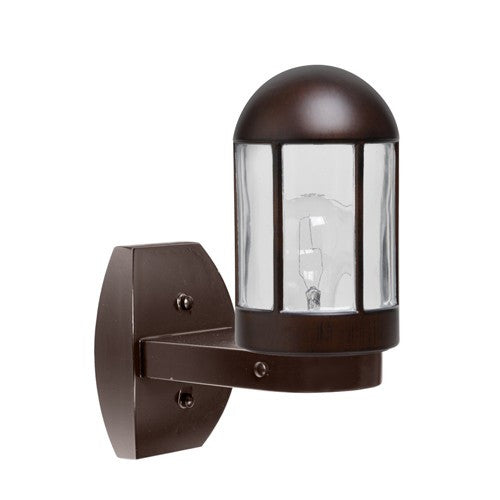 3151 Series Outdoor Wall Sconce - Bronze Finish Clear Glass