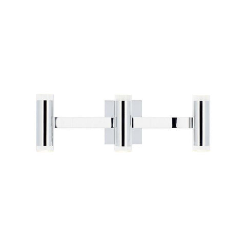 DOBSON II 3-LIGHT BATH Chrome Shallow