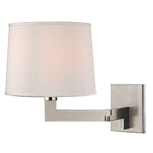 "Fairport 9"" Wall Sconce - Polished Nickel"