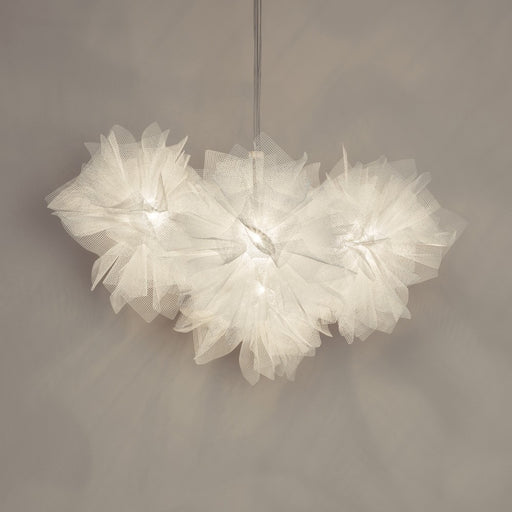 Fluo Chandelier - White