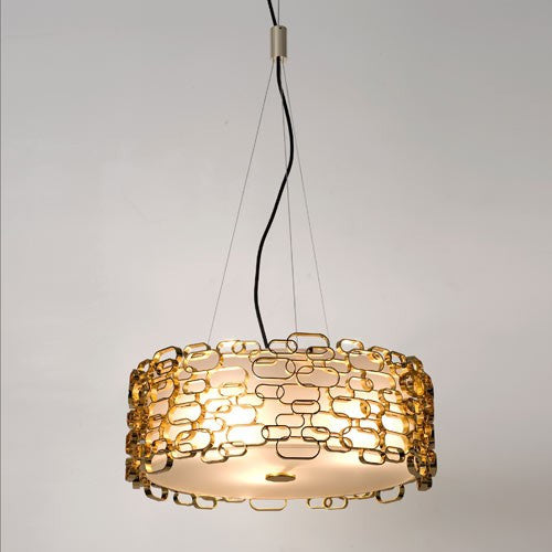 Glamour Suspension Light - Gold