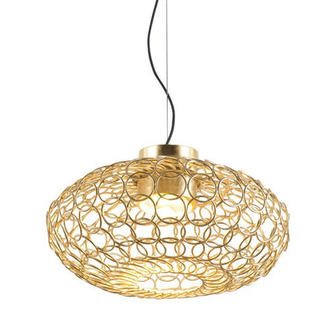 G.R.A. Oval Suspension Light - Gold