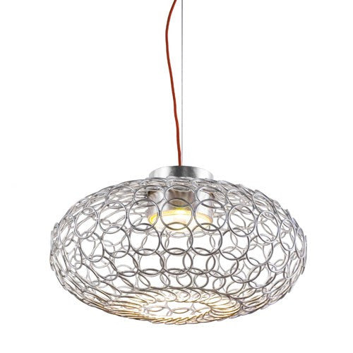 G.R.A. Oval Suspension Light - Nickel