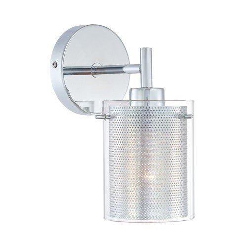 Grid II Wall Light - Chrome Finish