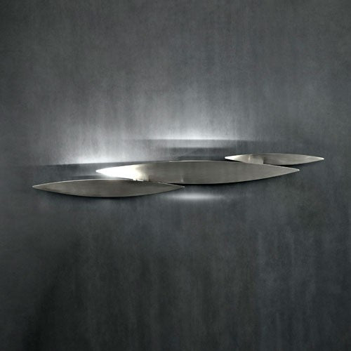 I Lucci Argentati Wall Sconce - Nickel
