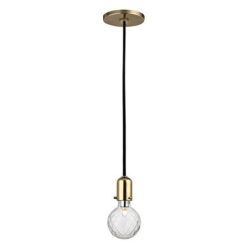 Marlow Pendant - Aged Brass Finish