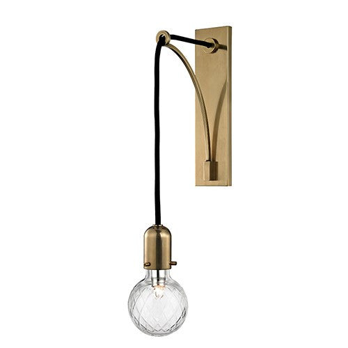 Marlow Wall Sconce - Aged Brass Finish