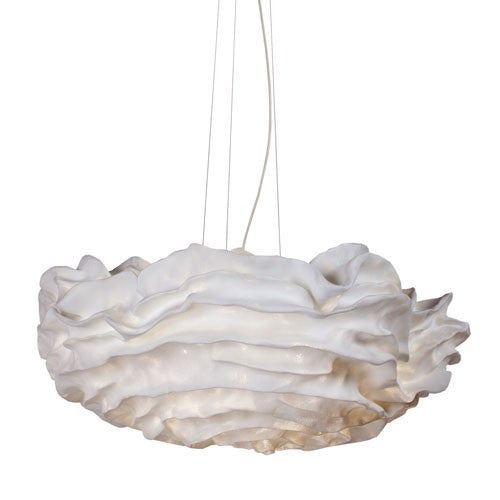 Nevo Large Pendant - White