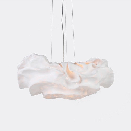 Nevo Medium Pendant - White