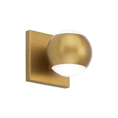 OKO 1 LIGHT BATH Aged Brass