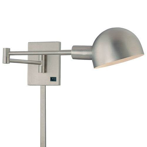 P3 Wall Light - Brushed Nickel Finish
