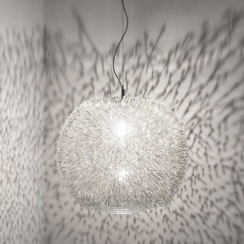 Sea Urchin Small Suspension Light - Crystal