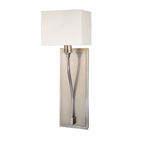 Selkirk 1 Light Wall Sconce - Satin Nickel