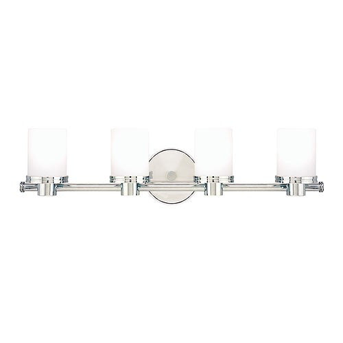 Southport Four Light Vanity Light - Polished Nickel