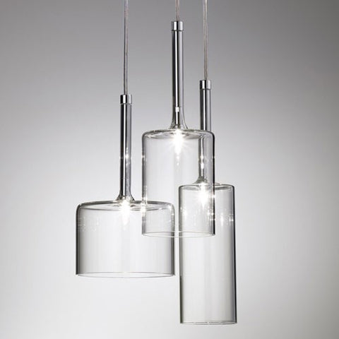 Spillray 3 Light LED Cluster Pendant
