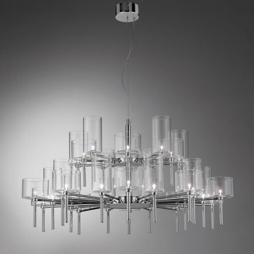 Spillray 30 LED Chandelier - Crystal