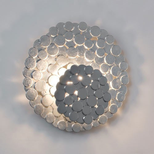 Tresor Wall Sconce - Silver (Small)