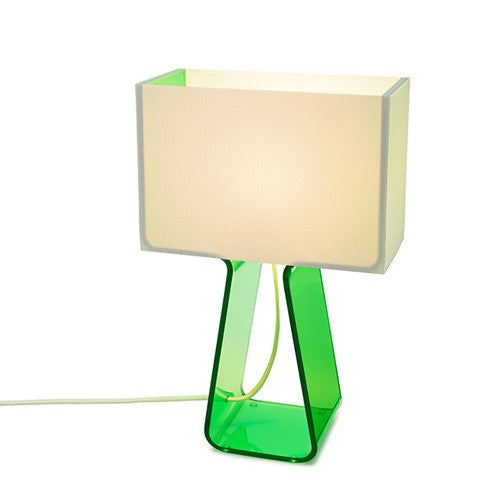 Tube Top Table Lamp - Green