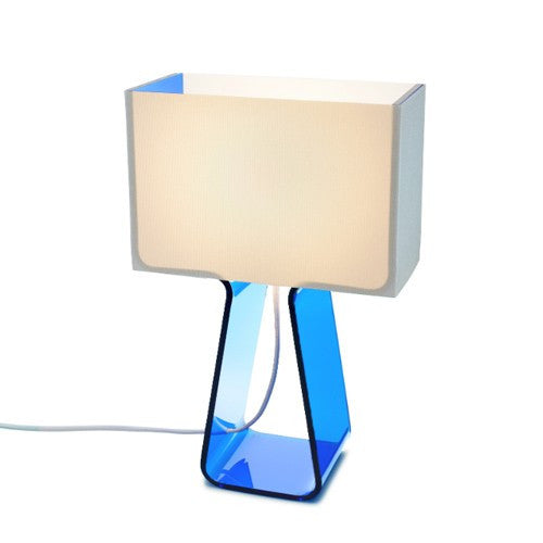 Tube Top Table Lamp - Sky Blue