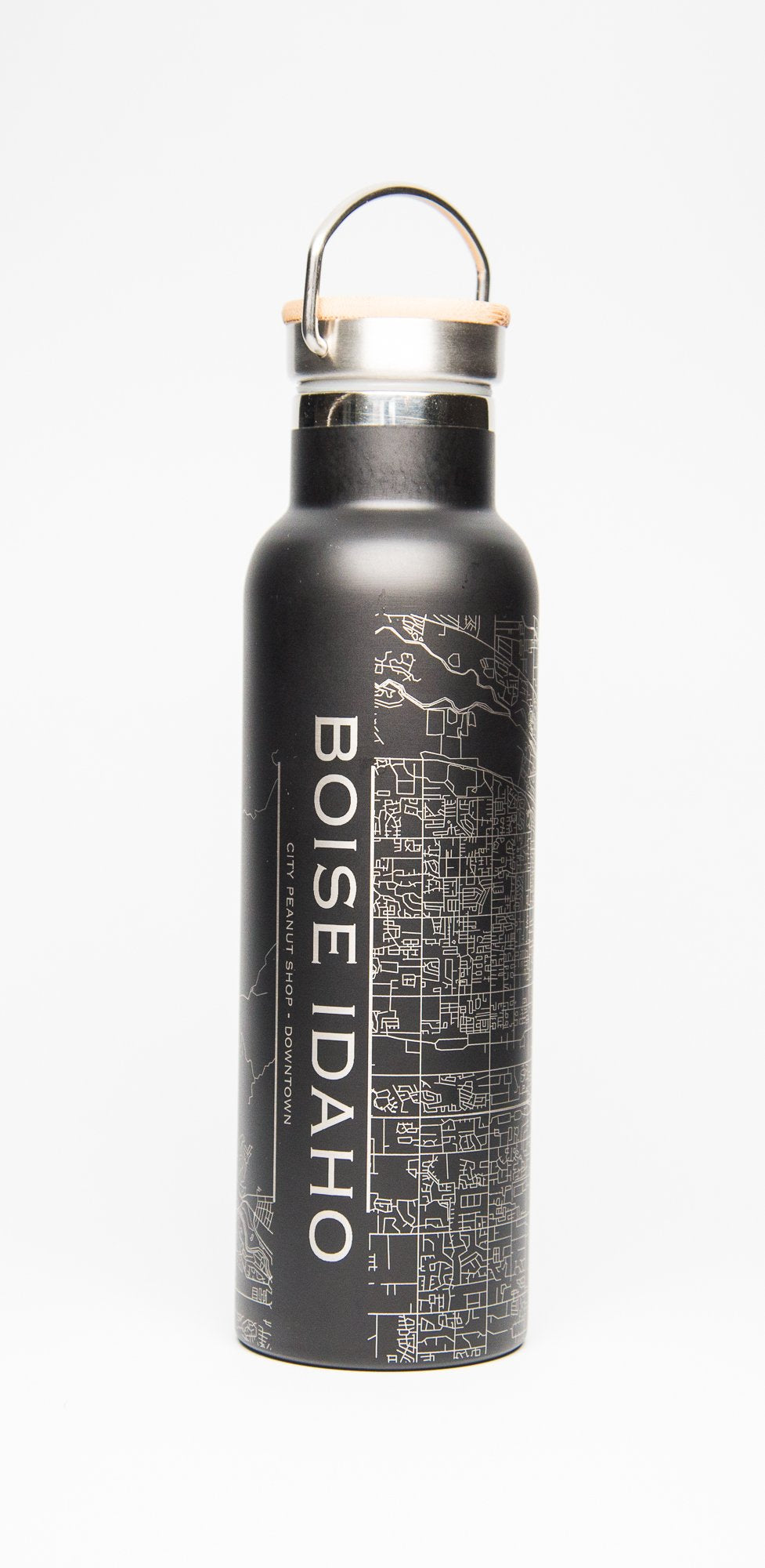 BOISE MAP DOUBLE-WALLED BOTTLE