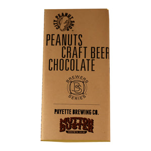 CRAFT BEER BROWN ALE CHOCOLATE BAR (Payette Brewing)