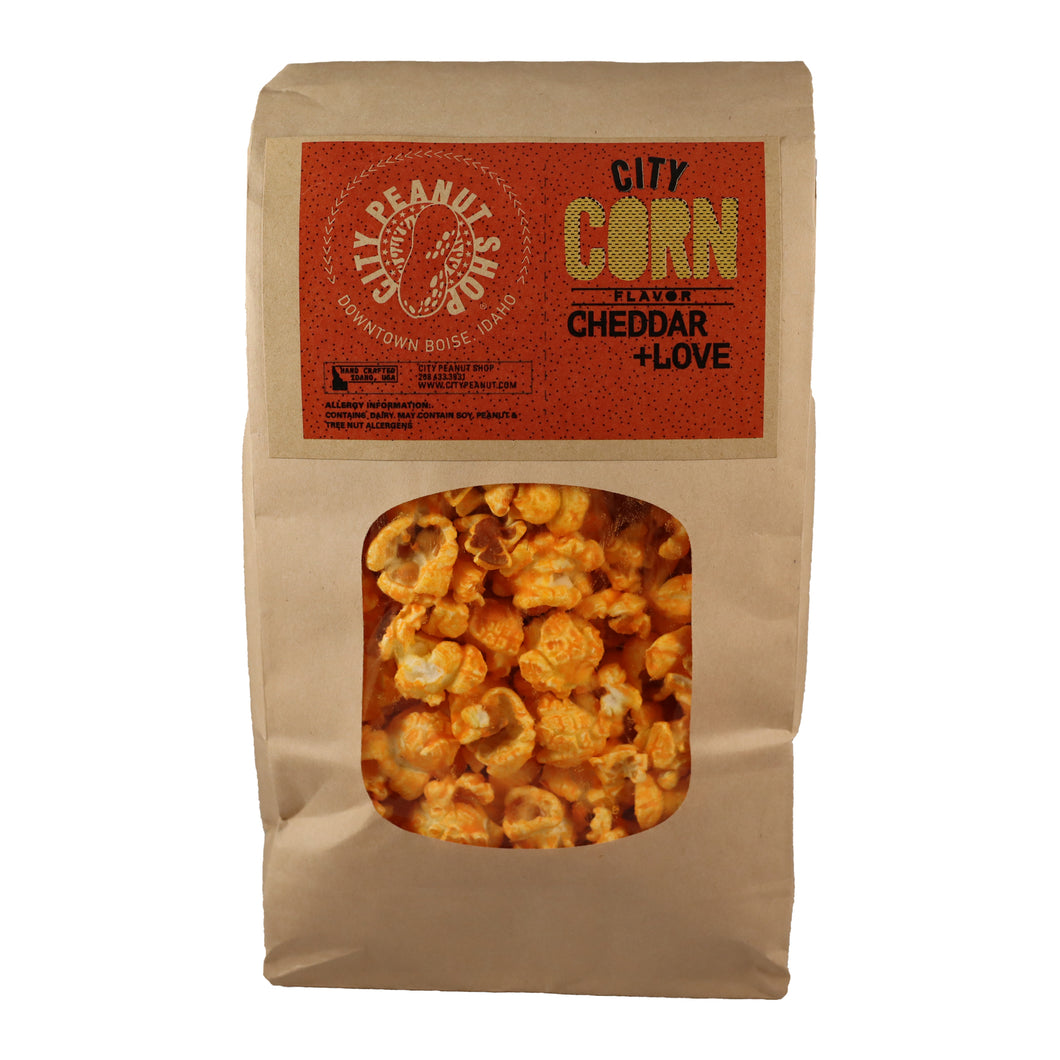 CITY CORN • CHEDDAR + LOVE