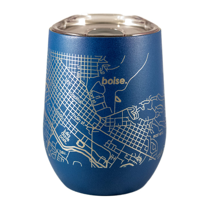 BOISE ID MAP • THERMAL WINE TUMBLER
