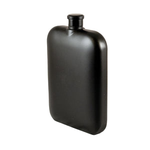 BORAH PEAK • BLACK POCKET FLASK