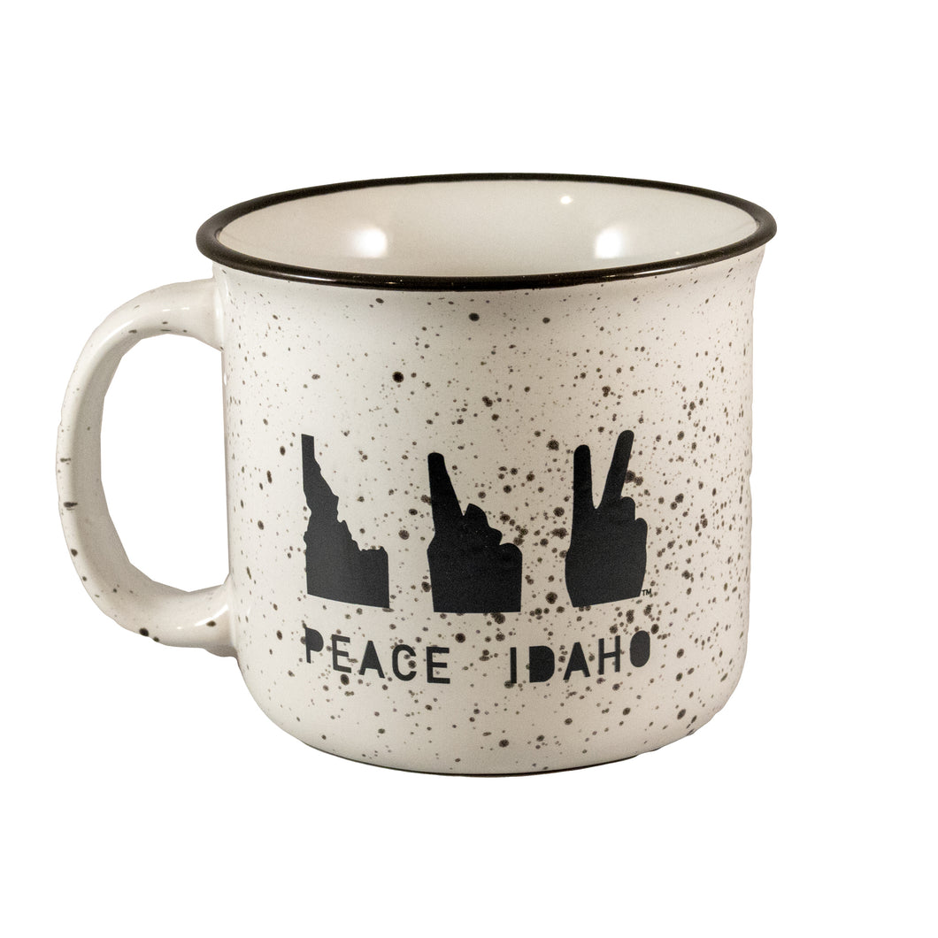 PEACE IDAHO • CERAMIC MUG