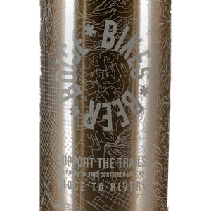 BIKES • BEER • BOISE SILVER THERMOS by KLEAN KANTEEN