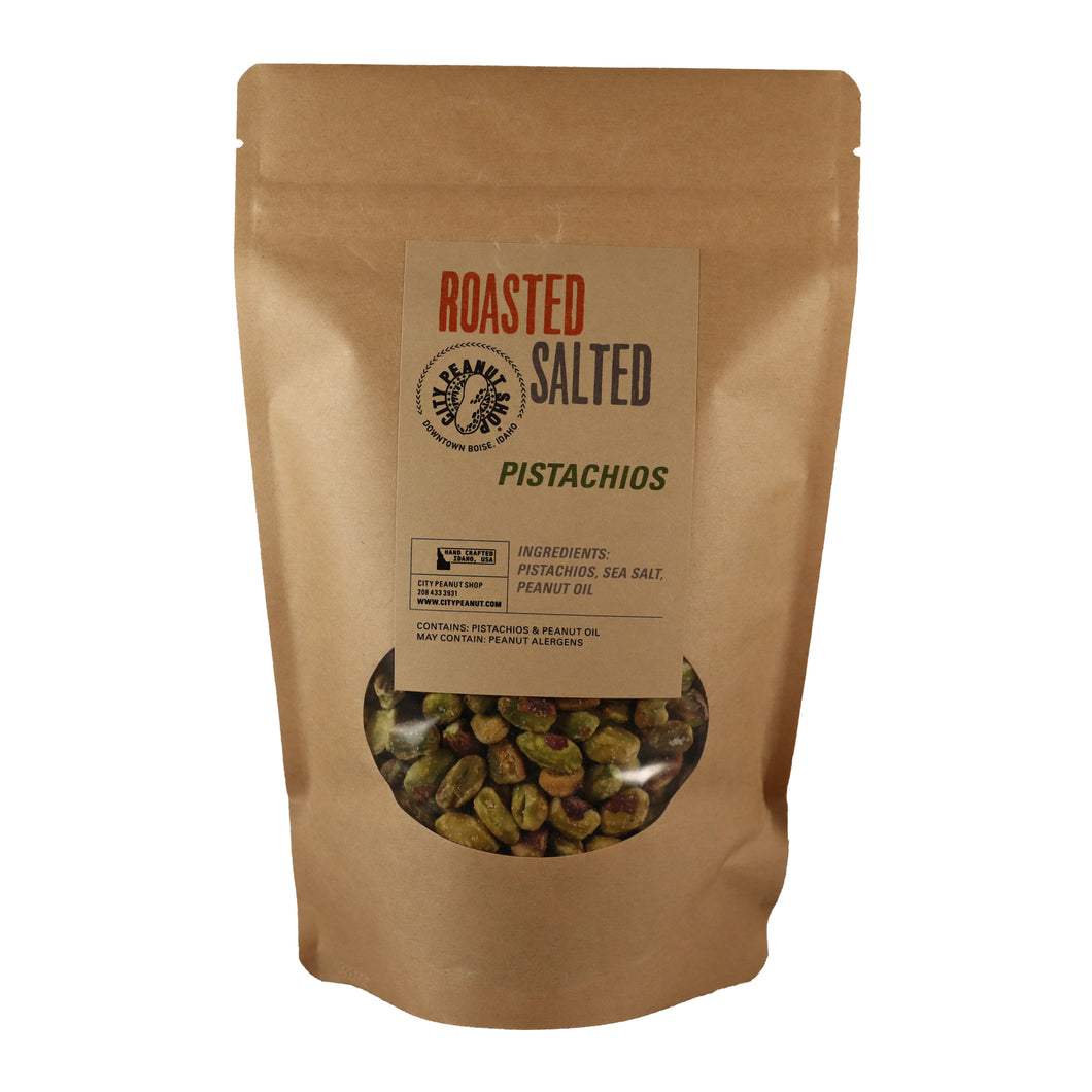 ROASTED SALTED PISTACHIOS