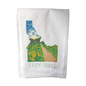 Tea Towel • 'Happy Trails'