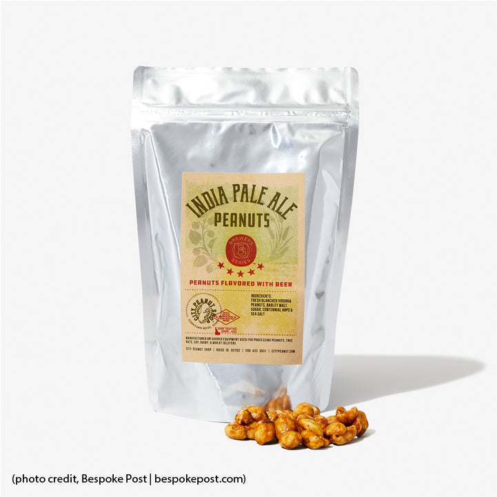 India Pale Ale Peanuts featured by Bespoke Post