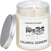 Colorado Scented Candle - Missing Home - Homesick Gift - Feeling Homesick- State Scented Candle - Moving Gift - College Student Gift
