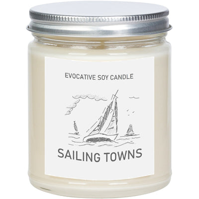 Maryland Scented Candle - Missing Home - Homesick Gift - Feeling Homesick- State Scented Candle - Moving Gift - College Student Gift.